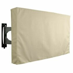 TV Cover Outdoor Khomo Gear Beige Waterproof Protector All Sizes LCD LED Plasma