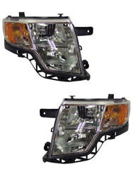 New Replacement Driver and Passenger Side Headlight Housing Assembly 114 01018AL $245.96