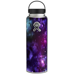 Skin Decal for Hydro Flask 40 oz Wide Mouth  Space Gasses