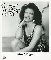 Mimi Rodgers Sexy 8x10 Photo With COA pj1 Inscribed To Tommy