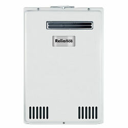 Reliance TS140-GEH 120000 BTU Natural Gas Outdoor Tankless Gas Water Heater