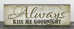 PRIMITIVE RUSTIC COUNTRY WOOD INSPIRATIONAL BLOCK SIGN HANDMADE HOME DECOR 1216 $9.99