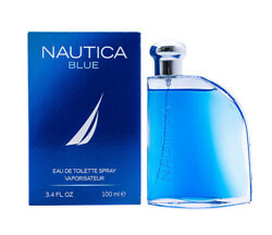 Nautica Blue 3.4 oz EDT Cologne for Men 3.4 oz Brand New In Box $10.98