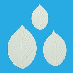 Orchard Products Set of 3 LEAF VEINERS Icing Sugarcraft Cutters Cake Decorating