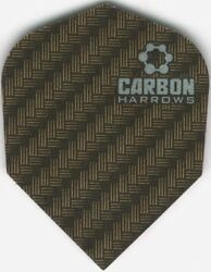 Gold CARBON Dart Flights: 3 per set