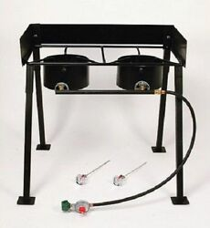 #414 Propane Cooker Outdoor Camping Cooking Gas Burner Stove Portable Pressure H