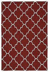 RED OUTDOOR RUGS CONTEMPORARY RUGS  9X12 [9' X 12' ]  PATIO PORCH CARPET