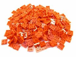 LEGO Red Plate 2x2 Lot of 100 Parts Pieces 3022 $8.09
