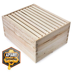 Beehive 10 Frame Add On Super with 10 Deep Frames Langstroth Beekeeping $47.99