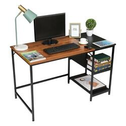 Wood Computer Desk PC Laptop Table Study Workstation Home Office Furniture $107.99
