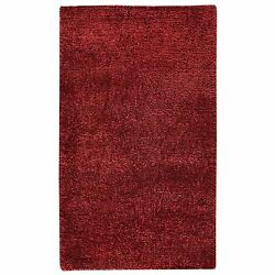 M.A.Trading Hand-woven Malibu Red Wool Polyester Rug (8' x 10') (India)