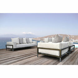 SOLIS Nubis Deep Seated Loveseat for Indoors and Outdoors