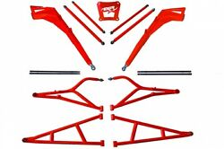 Lonestar LSR MTS +3.5 A-Arms Suspension Chassis Kit Polaris RZR XP Turbo XP-4