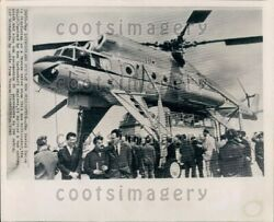 1965 Wire Photo Russias New Helicopter The MI10 $20.00