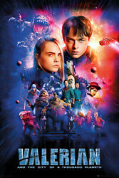 VALERIAN AND THE CITY OF A THOUSAND PLANETS - MOVIE POSTER (REGULAR STYLE)