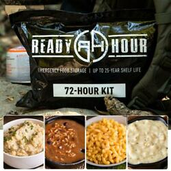 Ready Hour 72 Hour Food Supply Kit Survival Emergency 16 Servings $26.99