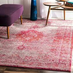 nuLOOM Traditional Vintage Oriental Medallion Area Rug in Grey and Pink $164.99