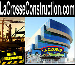 La Crosse Construction. com Home Commercial Building Garage Domain Name For Sale
