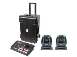 Datavideo GO 2CAM 2 remote camera kit with controller cables and hand carry case $7395.00