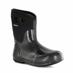 Bogs Women#x27;s Classic Mid with Handles Women#x27;s Insulated Boots Black 60156 001 $115.00