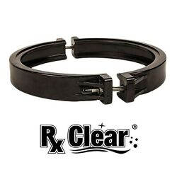 Rx Clear Valve Clamp Set For Patriot & Liberty Swimming Pool Sand Filters