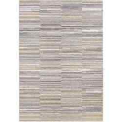 Power-Loomed Couristan Cape ShorehamIvory-Charcoal IndoorOutdoor Rug (6'6 x