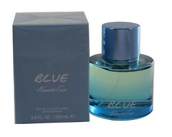BLUE BY KENNETH COLE 3.43.3 OZ EDT SPRAY FOR MEN NEW IN BOX $29.40