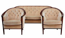 1960's SWEDISH ANDERSSON 3 PIECE SUITE