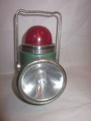 vintage Hamilton Hong Kong British Empire battery lantern with red light on top $20.00