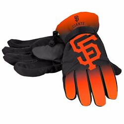San Francisco Giants Gloves Logo Gradient Insulated Winter NEW Unisex S M L XL $19.75