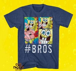 New Nickelodeon SpongeBob Bros Men#x27;s T Shirt $18.95