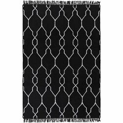 Hand-Woven Terrell Lattice Pattern IndoorOutdoor Rug (9' x 13')
