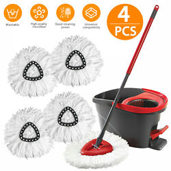 Replacement Heads Easy Cleaning Mopping Wring Spin Mop Refill Mop O Cedar 360° $25.98