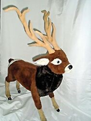 CHRISTMAS Ramat Reindeer Deer Lodge Cabin Decor 44