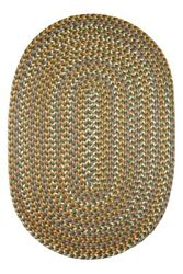 Sparkle Confetti Braided Indoor  Outdoor Rug in Dk. Taupe