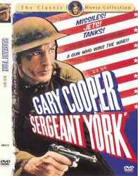 Sergeant York  (1941) New Sealed DVD GARY COOPER