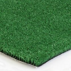 6 x 100 ft Artificial Green Grass Indoor Outdoor Flooring Portable Turf Carpet