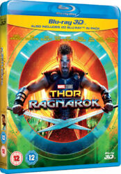 Thor Ragnarok 3D [3D + 2D Blu-ray Region Free Hemsworth Marvel Super Heroes]
