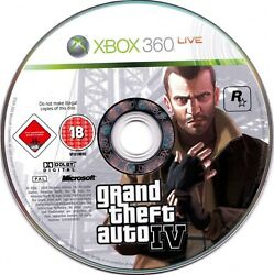 XBOX 360 Grand Theft Auto IV Liberty City Video Game Online Multiplayer GTA 4