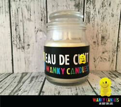 Novelty Birthday Valentine Gift Wanky Candle Funny Mum Sister Eau de C*** WC05 GBP 8.99