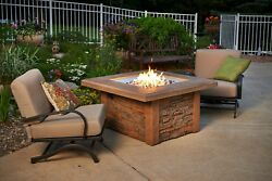 Outdoor GreatRoom Company Sierra Fire Table Push Button Ignition