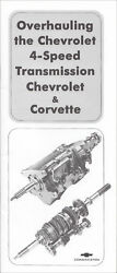 1963-1965 Chevy 4 Speed Transmission Overhaul Manual Muncie M20 M21 Corvette Car