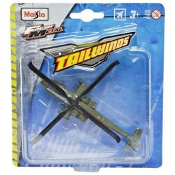 AH 64 Apache Helicopter. US ARMY. Maisto Fresh Metal Tailwinds. NEW in Package $14.95