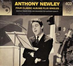 ANTHONY NEWLEY - FOUR CLASSIC ALBUMS PLUS SINGLES (NEW SEALED 4CD)