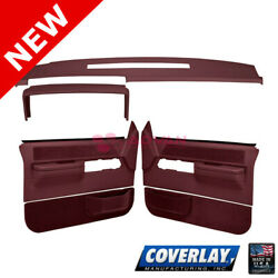 Maroon Interior Accs. Kit 18 606C36F MR For C1500 Pickup Front LF RT Coverlay $613.13
