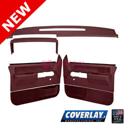 Maroon Interior Accs. Kit 18 606C36N MR For C1500 Pickup Front LF RT Coverlay $567.76