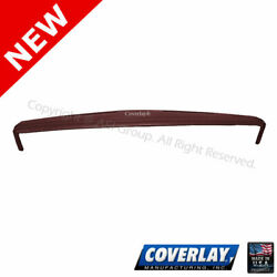 Maroon Dash Board Cover w Outside Speakers 18 604 MR For Caprice Coverlay $207.65