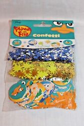 NEW IN PACKAGE PHINEAS AND FERB CONFETTIS PARTY SUPPLIES $2.99
