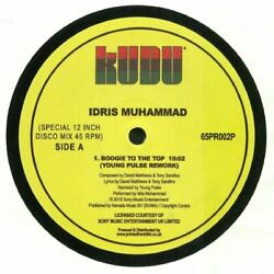 MUHAMMAD Idris - Boogie To The Top (Young Pulse rework) - Vinyl (12