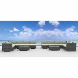 Urban Furnishing La Jolla 14-piece Outdoor Wicker Rattan Patio Set